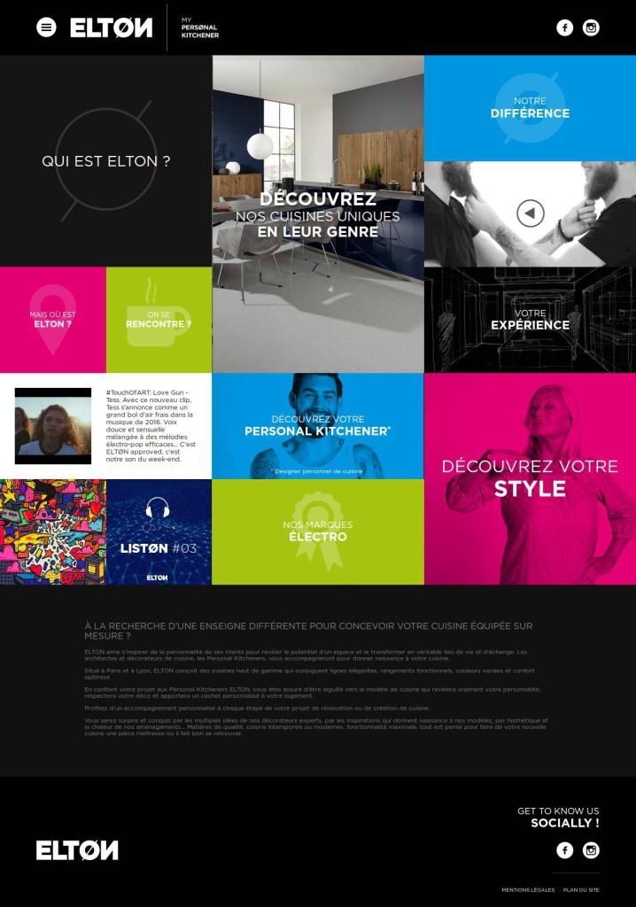Homepage Elton